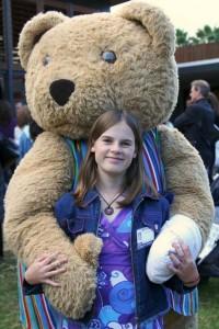 Bandaged Bear Hug