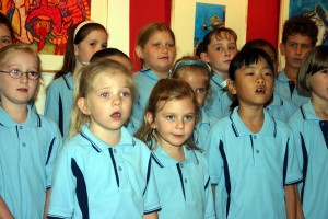 Choir at Opening