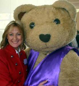 Fiona & Bandaged Bear