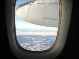 Out a Dash 8 Window