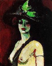 Van Dongen\'s Woman In a Large Hat