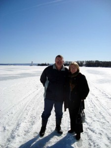 Doug & Sue on the Ice