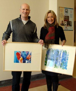Artworks to Art For Healing Foundation at Montreal Children\'s Hospital