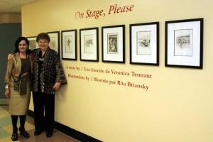 Evelyn Tennant & Rita Bransky