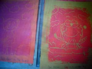 Foamboard Printmaking on Colour