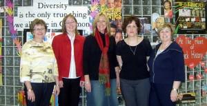 Marnie MacLeod (VP)-Lesley Ann-Fiona-Diane Lewis-Joyce Morrison (P)