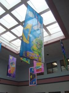 painted-silk-hangings