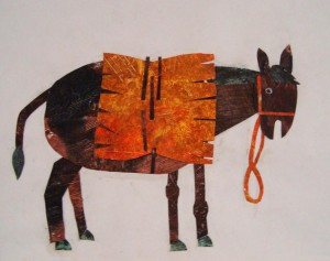 textured-paper-donkey