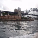 Soaked Sydney Harbour