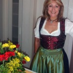 You wear a dirndl