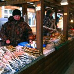 Fish at the markets