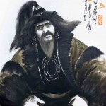 Genghis Khan - never allowed pics so while all conquering, uniting good bloke..  probably wasn't big on the facebook of his time.