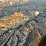 Flying high over Cappadocia