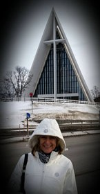 Fiona and Arctic Cathedral 2