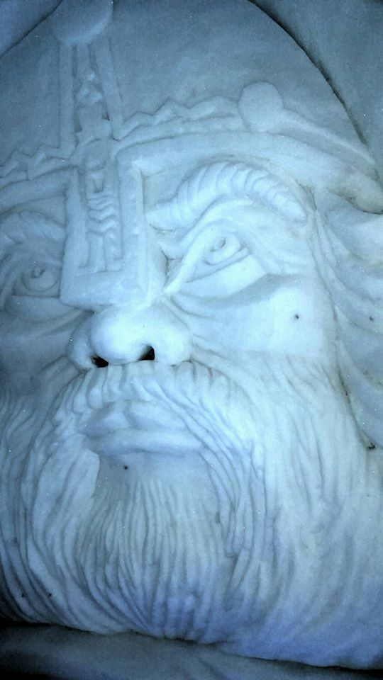 Relief Ice Sulpture