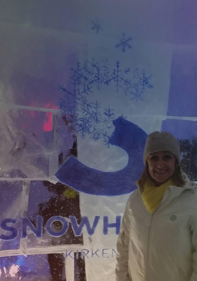 Snow Hotel entrance